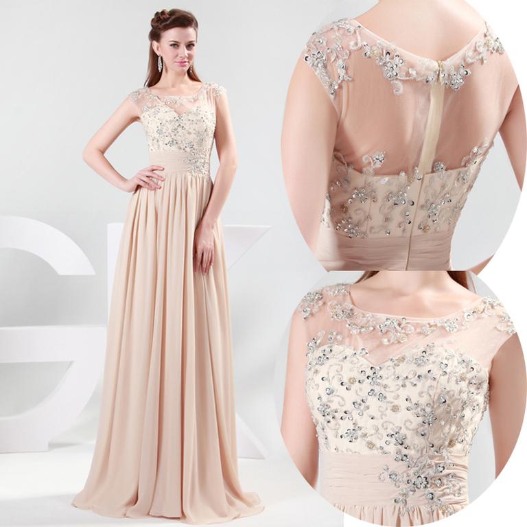 коллекция длинных вечерних платьев 2012